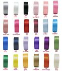 "2y 5y 10y 25y 75mm 3"" Double Sided Premium Heavy Satin Ribbon Extra Wide Eco"