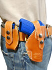 NEW Barsony OWB Tan Leather Holster + Mag Pouch Makarov Small 380 Ultra Compact