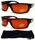 HD High Definition Vision Driving Sunglasses WrapAround Golf Driver Glasses NEW