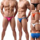 Mens Sexy Low Underwear Bikini Briefs Shorts Comfortable Wear Pure color Hot-KFO