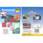 Vilene Bondaweb Paper Backed Fusible Web Iron On Transfer Adhesive Applique Glue