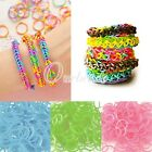 190x Hot Glow in the Dark Loom Rubber Bands Refill 15x S Clip 1x Loom Tool