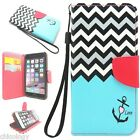 "New For Apple iPhone 6 PU Leather Case Wallet Cover Pattern Flip 4.7"" Stand"