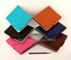 LEATHER FLIP FLAP MULTI-COLOR COVER STAND 7 inch TABLET CARRY CASE POUCH HOLDER