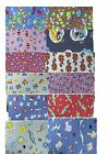 cotton Jersey patterened fabric Fabric soft stretch per metre