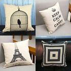 New Fashion Bed Sofa Throw Pillow Cases Square Car Back Cushion Cover Home Decor