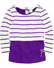 s.Oliver Girls' 2-in-1 Striped Top, Sizes 3, 4, 5, 6, 7, 8