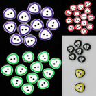 100x Multicolour Triangular Circle Design 12mm Resin Buttons 2 Hole Sewing Craft