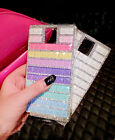 Luxury Colorfully Bling Crystal Diamond Clear Case Cover For Samsung Phone SZC