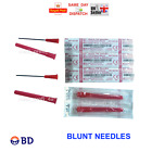 2 4 5 10 15 20 25 30 40 50 BD BLUNT NEEDLES CHOICE QTY REFILL FAST CHEAP BLUE