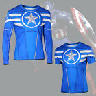 Superhero Marvel Comic Compression Cycling Jersey T-Shirt Costume Vest Tank Tops