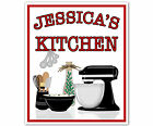 CUSTOM, PERSONALIZED REMOVABLE VINYL WALL DECALS-KITCHEN STICKERS
