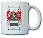 WALBY COAT OF ARMS COFFEE MUG