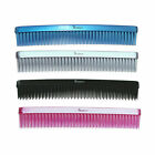 Denman D12  Three-RowHair Comb Black Silver Pink Blue