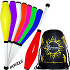 Henry's Delphin Juggling Club set - 3 Juggling Clubs + Flames N Games Bag
