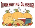 Thanksgiving Blessings Childrens Baby tshirt onepiece
