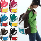 Hot Fashion Unisex Versatile Canvas School bag Rucksack Backpack Leisure Bag