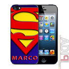 cover iphone 5 SUPERMAN con il tuo nome