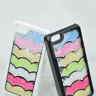 Vogue Design Rhinestone Bling Rainbow Crystal Pop Cover Case For iPhone 5C FOUK