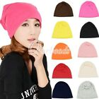 Fashion Unisex Simple Classic Slouchy Beret Plain Baggy Hat Rasta Beanie Cap
