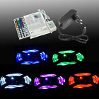 3528 5050 10M RGB 600 SMD 12V LED Flexible Strip Light Waterproof tape + Adapter
