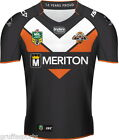 Wests Tigers 2015 Home Jersey Sizes 4XL - 5XL Adults NRL New ISC SALE