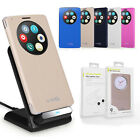 Quick Circle Leather Case Cover With Qi Wireless Charging for LG G3 D855 Tide