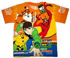 BEN 10 ULTIMATE ALIEN JET RAY ARMODRILLO t-shirt Sz 4,6,8,10 Age 3-8yrs FreeShip