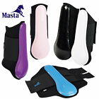 Masta PVC Horse Neoprene Brushing Boots Equine Leg Protection *NEW* RRP £18.99