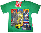 TRANSFORMERS OPTIMUS PRIME BUMBLEBEE LOCKDOWN t-shirt Sz S-XL Age 3-7y Free Ship