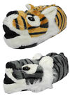 Mens Boys Ladies Girls Novelty FurTiger Animal Slippers Childs or Adults Sizes