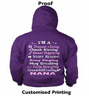 Grandma, Granny, Nanna, Nanny or any Other Name Ladies FITTED Hoodie, UK  8 - 18