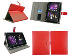 """Stylish Wallet Case Cover Stand fits Binatone Homesurf 844 8"""" Inch Tablet"""
