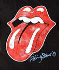 The Rolling Stones '89 Tongue Andy Warhol Logo rock T-Shirt L XL NWT