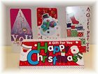 Christmas Money Wallets - Various Designs - Money Gift Cards