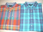 $59 NEW NWT TOMMY HILFIGER MENS SHIRT SIZE S M L XL 2X XXL S/S BUTTON UP COTTON