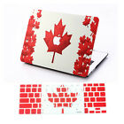 "CA Flag Rubberized Hard Case &Keyboard Cover For Macbook Pro 13""15""Air 11""13inch"