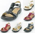 Ladies Clarks Un Swish Velcro Sandals From The Unstructured Range