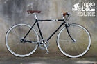 New Mens Retro Vintage Style Cafe Racer Commuter Bike Shimano Nexus Hub Gears