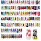 TP16-C 20 Pcs, 200 Pcs Nail Art Half Pre-design Tips-91-120 Colours