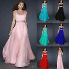 Long Chiffon Bridesmaid Dresses Formal Party Cocktail Prom Evening Dresses Stock