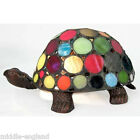 TIFFANY STYLE TABLE LAMP SPOT TURTLE/TORTOISE GLASS SHADE + BULB *BUY 2 SAVE 10%