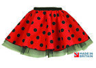 Adult BUMBLE BEE / LADY BUG/ LADYBIRD TUTU SKIRT FANCY DRESS COSTUME DANCE