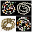J60116 Carved gemstone kinds of crystal loose beads,More stone to select