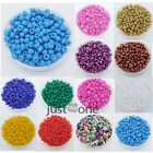 1500pcs 2mm Useful Opaque Colored Chunky DIY Beads Necklace Bracelet DIY Tools