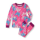TCP GIRLS 2PC BUTTERFLIES HEARTS PINK L/S COTTON PAJAMAS GYMMIES 4 5 6 6X/7 8