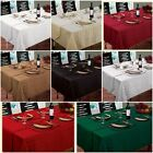 LUXURY WOVEN JACQUARD TABLEWARE - TABLECLOTHS NAPKINS RUNNERS MATS 8 COLOURS