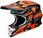 Shoei VFX-W Helmet Barcia Reputation Block Pass Maelstorm Sear Mx Atv Motocross