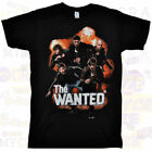 THE WANTED Band Black T-Shirt