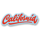 2 x California Vinyl Stickers iPad Laptop Travel Luggage Decals Fun Surf #4394